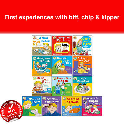 Read With Biff, Chip & Kipper First Experiences collection 13 Books set at Home