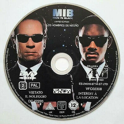 Men In Black (DVD) Disc Only - Will Smith -Tommy Lee Jones - (1997)