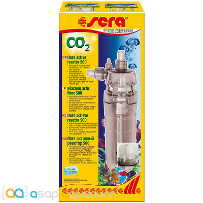 Sera Flore 500 CO2 Reactor for Freshwater Planted Aquariums Fast Free USA Ship