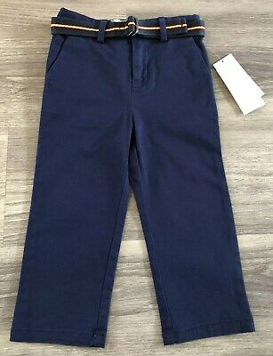 BNWT RALPH LAUREN Boys French Navy Chino Pants Age 2 / 24 Month - RRP £55