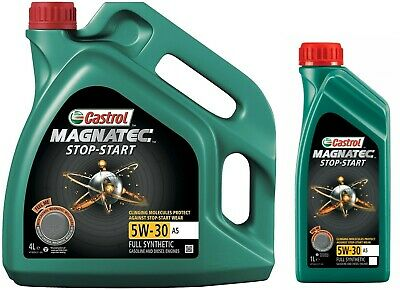 Castrol Magnatec Stop-Start 5W30 A5 Fully Synthetic Engine Oil