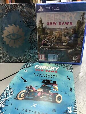 Far Cry New Dawn + Steelbook Ita PS4 NUOVO SIGILLATO