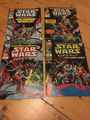 Star Wars Comics Vintage