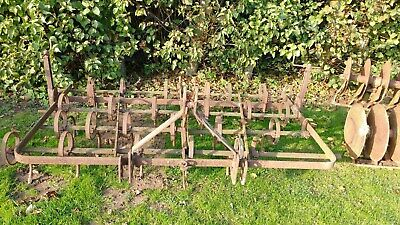 Cultivator Spring Tine 8' Wide 25 Tines Used