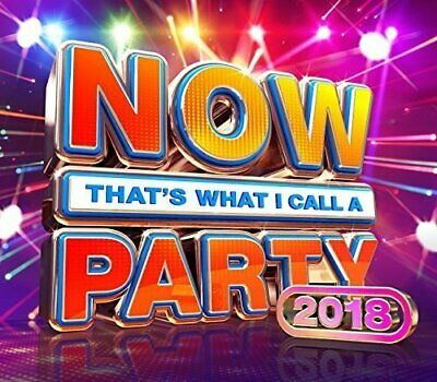 NOW That's What I Call A Party 2018 -Various Artists [CD]