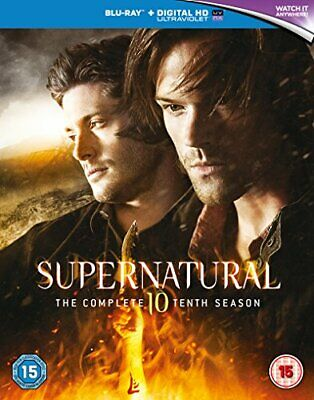 Supernatural - Season 10 [Blu-ray] [2016] [Region Free] [DVD][Region 2]