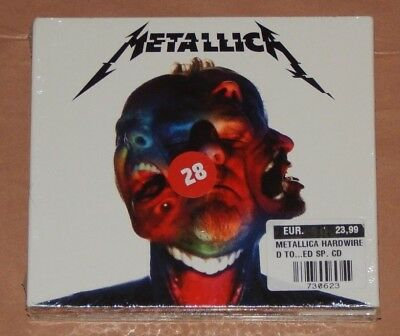 METALLICA HARDWIRED TO SELF-DESTRUCT Deluxe Edition (3 CD Audio) Nuovo