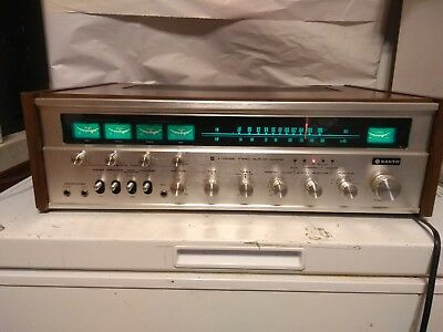 VINTAGE AUDIO Sanyo 4 channel stereo receiver auxiliary DCX3300K