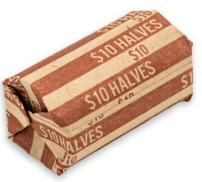 100 Paper Coin Wrappers For Half Dollar Coins 50 CENT PIECES HALVES WRAPPER