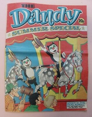 Dandy Summer Special 1977. D C Thomson Famous British Comic Weekly. Beano