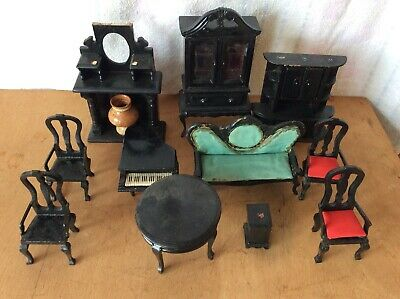 wooden dolls house furniture pre owned