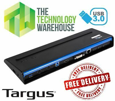 Targus USB 3.0 Docking Station suits Lenovo A475 A275 E585 E485 E580 E480 E575