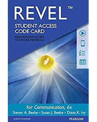 Communication: Principles for a Lifetime, Student Access Code Card Only