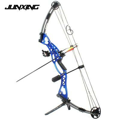 Archery Compound Bow 40-60lbs Aluminum Alloy with Peep Sight for Adult Hunter Ou
