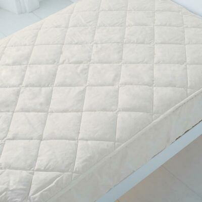Baby Toddler Cot Bed Mattress Quilted Extra Breathable & Thick 140 x 70 x 13 cm