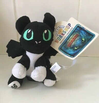 Build A Bear Workshop How To Train Your Dragon Green Eyed Mini Bears Brand New