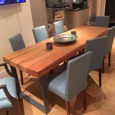 Eight (8x) Dining Room chairs Including 1x Carver chair
