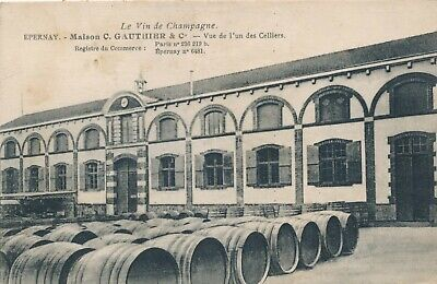 CPA - France - (51) Marne - Epernay - Maison C. Gauthier