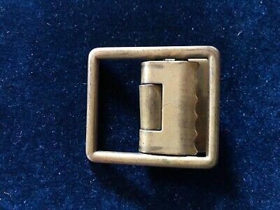 Military (US AB or FB) Brass Open Faced Belt Buckle