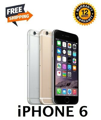 Apple iPhone 6 - 16/64/128GB (Unlocked) Smartphone - Various Colours