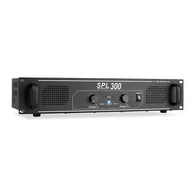 "300W Pa Amplifier Disco Stage Karaoke Party Sound System Amp 2U 19"" Rack Mount"
