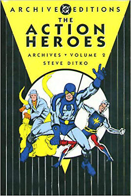 Action Heroes Archives HC Vol 02 (Archive Editions (Graphic Novels)), Uslan, Mic