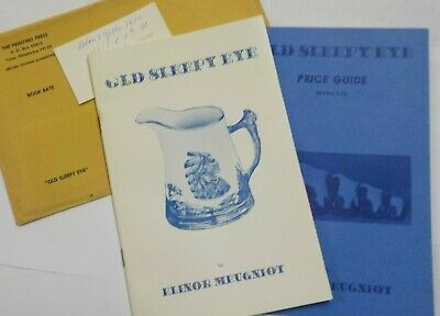 Old Sleepy Eye Pottery & Price Guide by Elinor Meugniot Signed by Publisher 1974