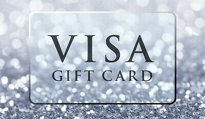 $500 VISA Card NO Fees - Activated ready to use, FREE SHIPPING