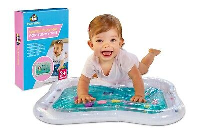 Water Play Mat Kids, Inflatable Baby Fun, Activity Play Center