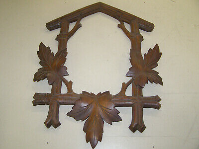 """Coo Coo Clock front trim piece to fit box 7 to 7 1/2"""" wide by 10 to 10 1/2"""" tall"""