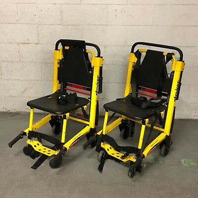 SET OF TWO - Fully Refurbished Stryker Stair Pro 6252 (Stair Chair) for EMS/EMT