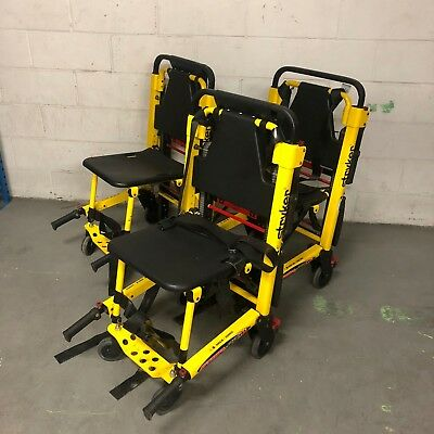 SET OF 3 - Fully Refurbished Stryker Stair Pro 6252 (Stair Chair) for EMS/EMT