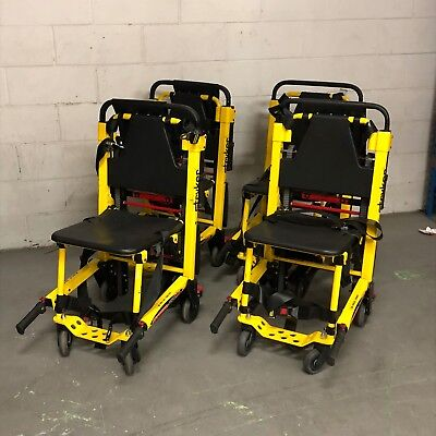 SET OF 4 - Fully Refurbished Stryker Stair Pro 6252 (Stair Chair) for EMS/EMT