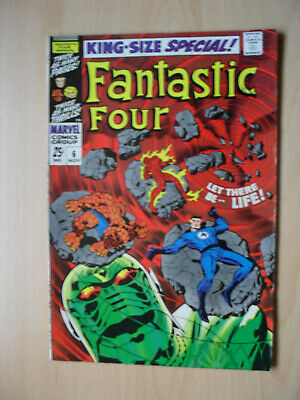 FANTASTIC FOUR KING SIZE Sp # 6 1968 SILVER AGE MARVEL COMIC BOOK