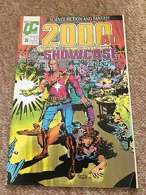 Authentic 2000AD Showcase #28 Dan Dare, Quality Comics