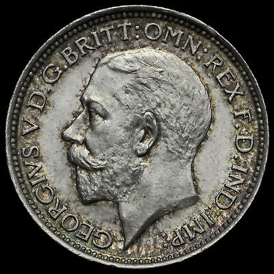 1911 George V Silver Maundy Fourpence