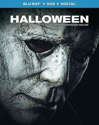 Halloween (2018) [Blu-ray + DVD + Digital] (Bilingual)  FREE 2 Day shipping