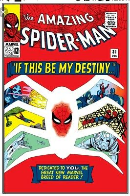 The Amazing Spider-Man #31 1965, Marvel 1st app hot book reader copy OW pages