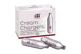 Nitrous Oxide Canisters Whipper NOS N2O ISI, 8g Whipped Cream Chargers x 10