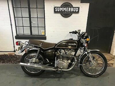 Honda CB500 T Twin Ride or Restore Running Project Original only 8105 Milles