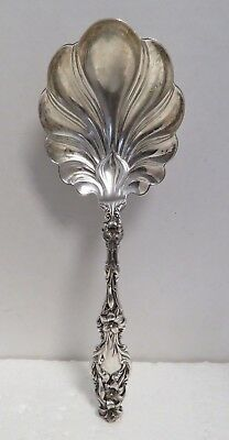 "Antique Sterling Silver Monogrammed ""Lilly"" 9""  Server."