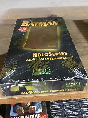 1996 Fleer Skybox Batman Holo Series Factory Sealed Trading Card Hobby Box