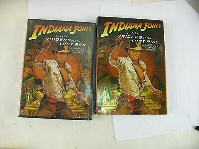 Indiana Jones and The Raiders of the lost Ark with dust jacket