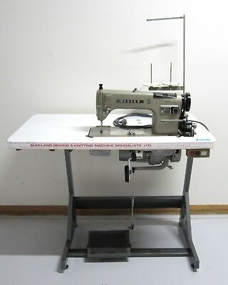Consew 230 Industrial Sewing Machine and Table