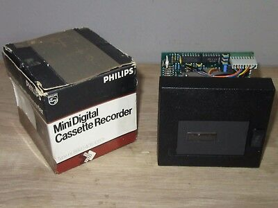 Vintage Philips Mini Digital Cassette Recorder Ldr 4051/05 In Original Box