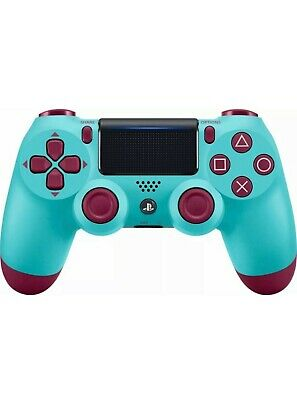 Official Sony PlayStation 4 PS4 Dualshock 4 Wireless Controller - BERRY BLUE