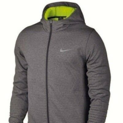 24e0de18 NEW NIKE GOLF Tech Men's Size XL Sphere Full Zip Hoodie Jacket Grey Volt  NWT$150
