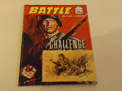 BATTLE PICTURE LIBRARY NO 170,dated 1988 !,V GOOD FOR AGE,VERY RARE,31 yrs old.
