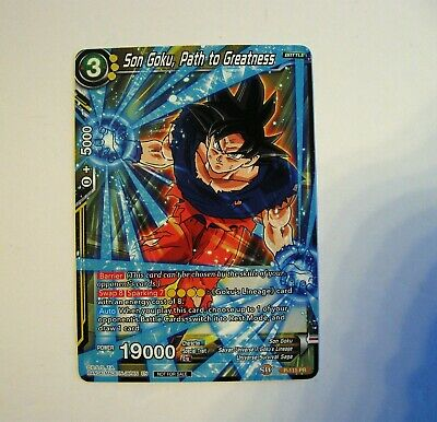Dragon Ball Super SON GOKU ,PATH TO GREATNESS #P-115 PR Promo Power Booster NM/M