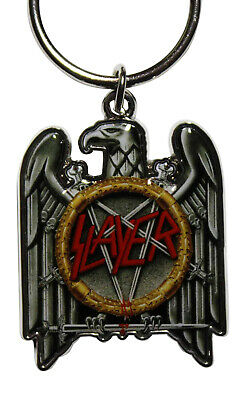 Slayer Metal Keychain - RO Eagle Key Chain Keyring Key Ring FOB - OFFICIAL